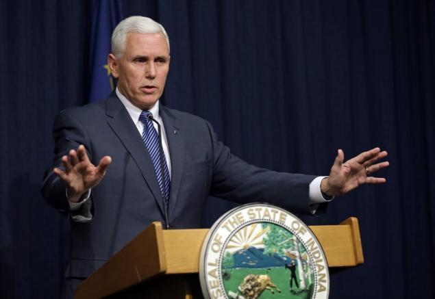 Mike Pence indianai kormányzó