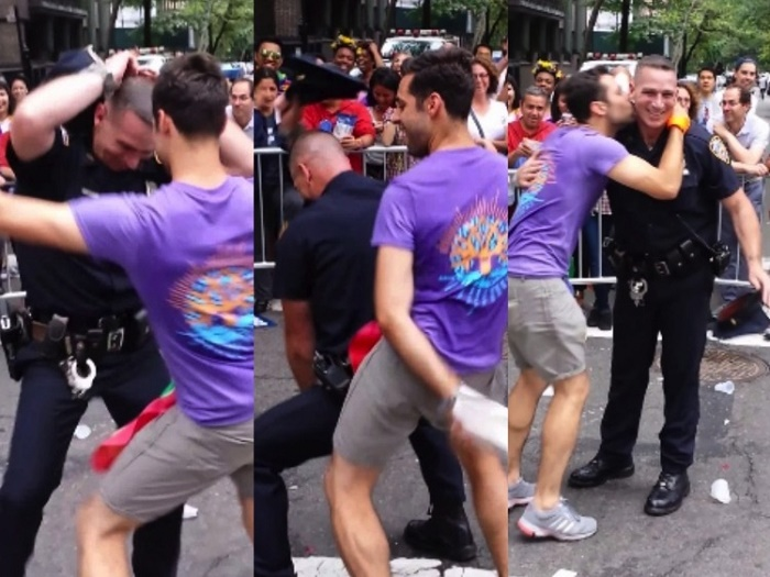 Photo of Videó: Így táncol a rendőr a New York Pride-on