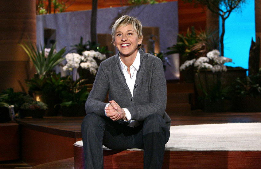 Photo of Ellen DeGeneres mint alelnök?