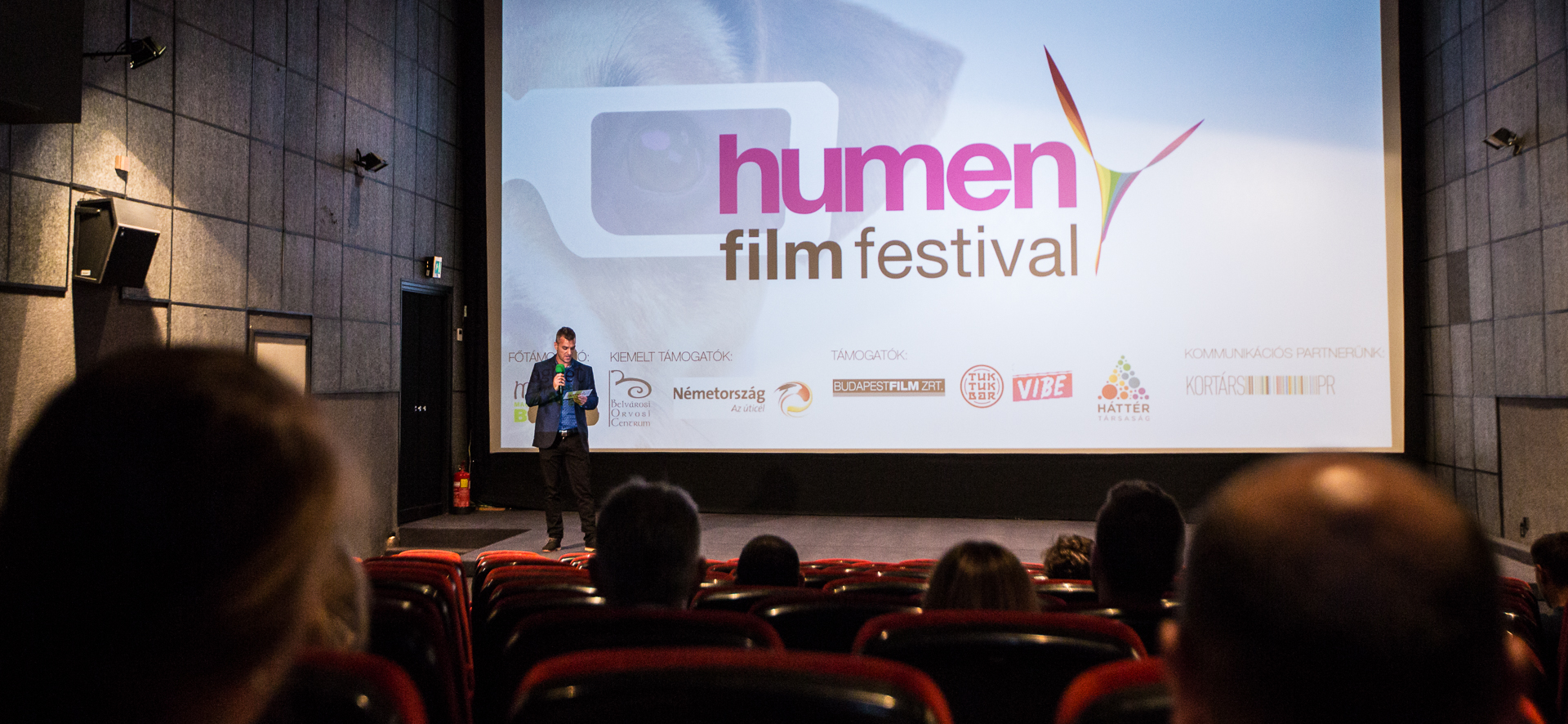 Photo of Elstartolt a Humen Film Festival