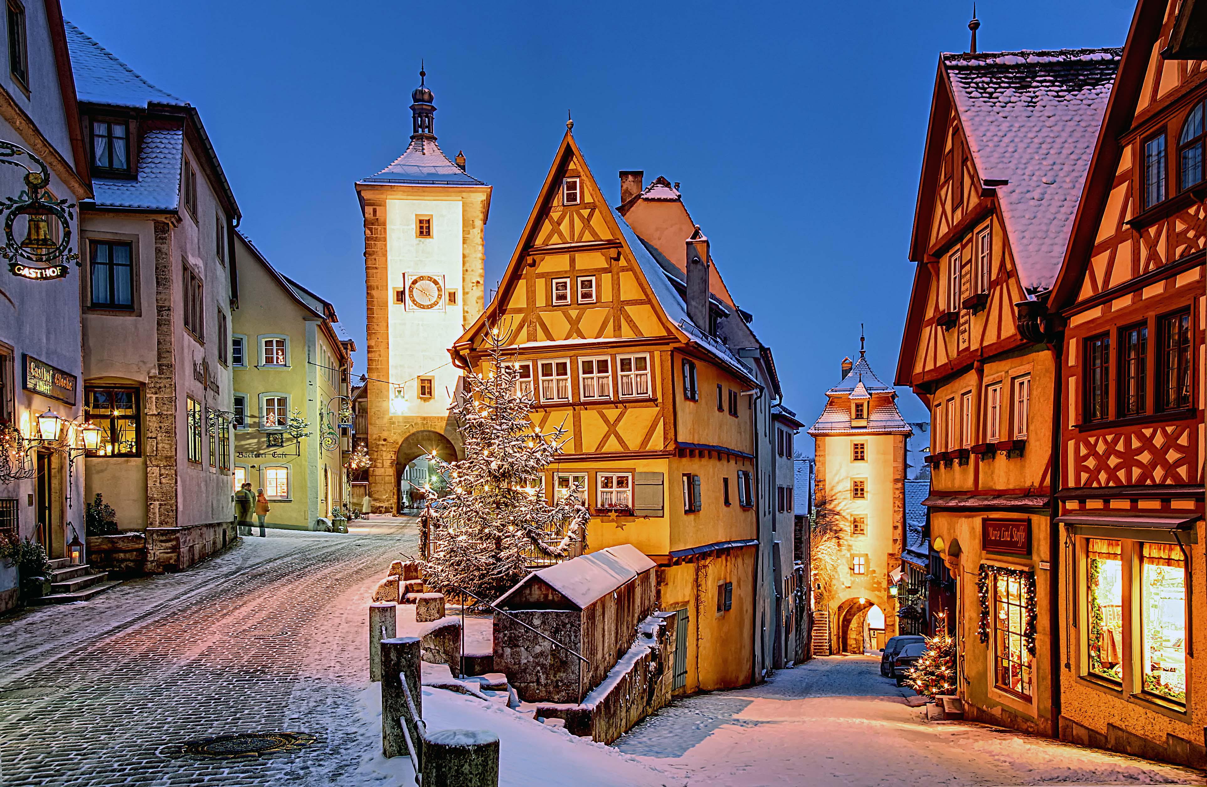 Ahol egész évben karácsony van - Rothenburg ob der Tauber