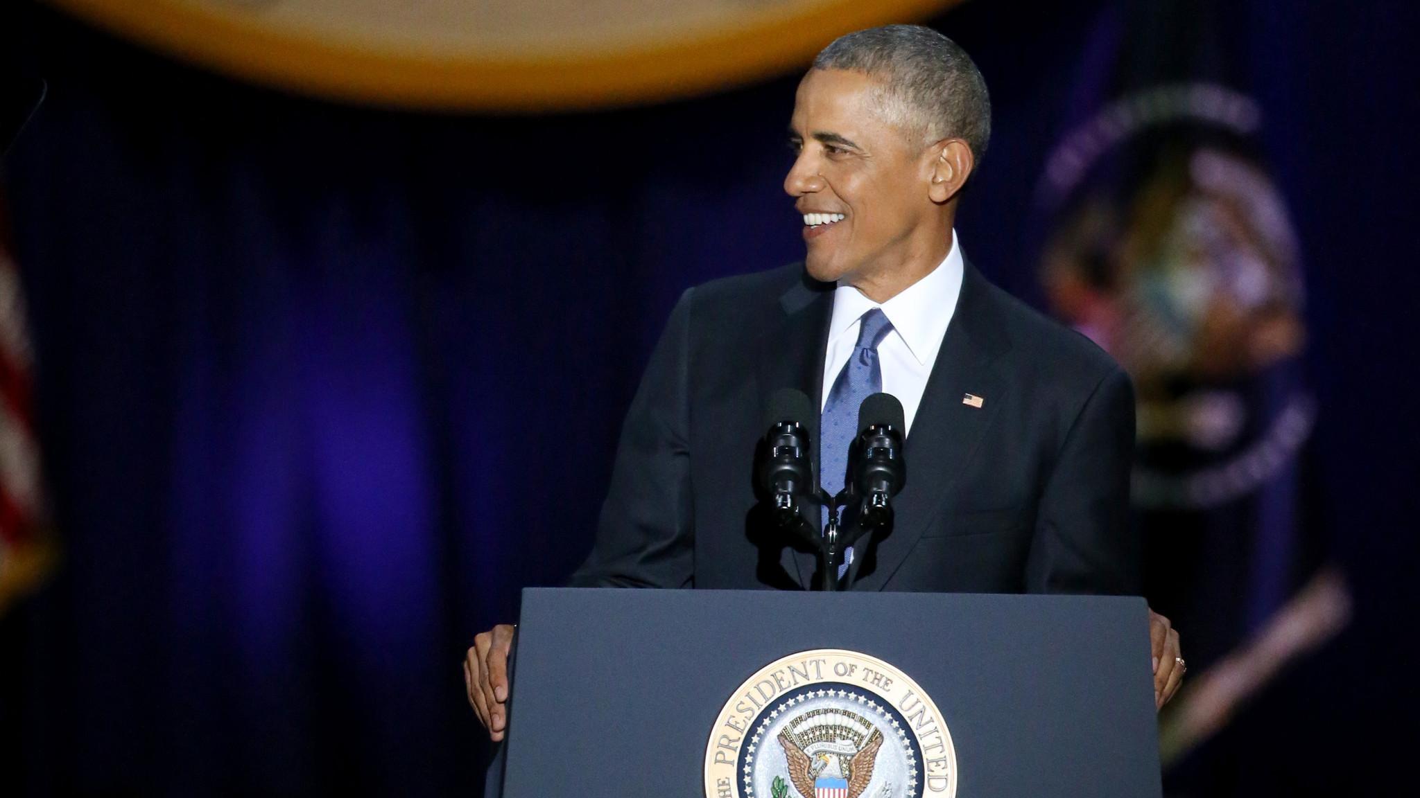 Photo of Az LMBT-közösségről is megemlékezett búcsúbeszédében Barack Obama