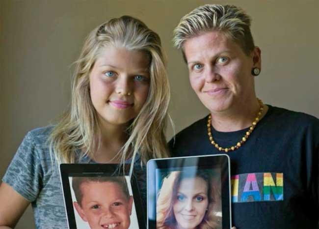 Photo of Együtt váltott nemet anya és fia – immár apa és lánya