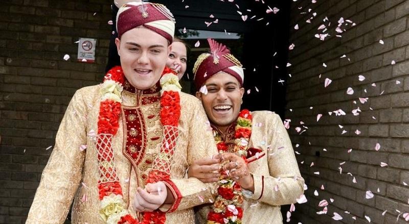 Photo of Megtartották Nagy-Britannia első muszlim meleg esküvőjét