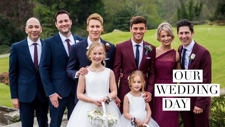 Photo of Megható vallomások Tom Daley esküvői videójában
