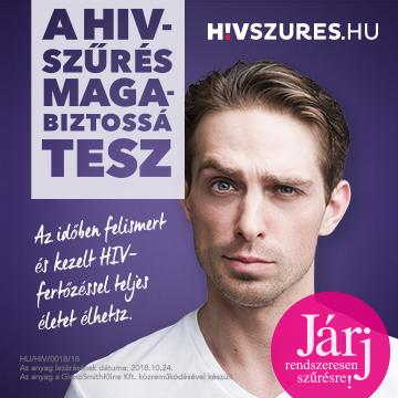 HIVszűrés.hu sidebar banner