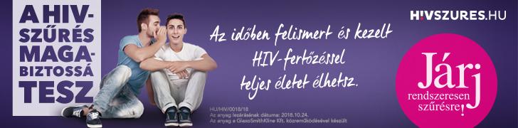 HIVszűrés.hu fejléc banner