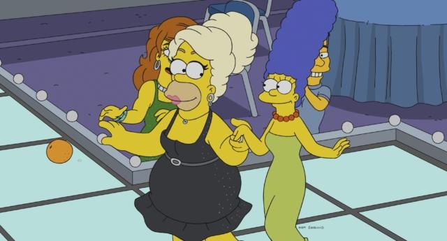 Photo of Homer drag queen A Simpson család új részében!