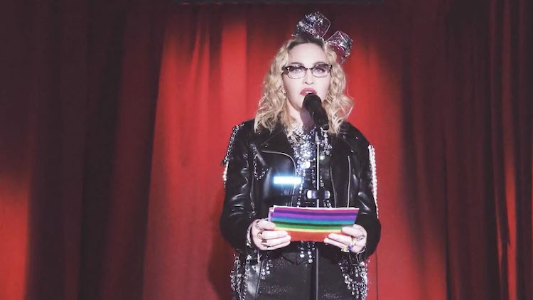 Photo of Transzvesztitákról és a Stonewall-lázadásról szólhat Madonna következő klipje