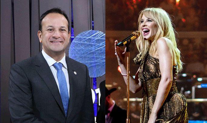 Photo of Kylie Minogue-nak írt rajongói levelet az ír miniszterelnök