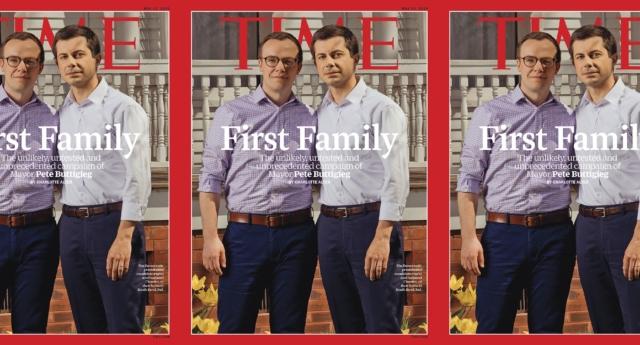 Photo of Meleg elnökjelölt a Time legújabb címlapján