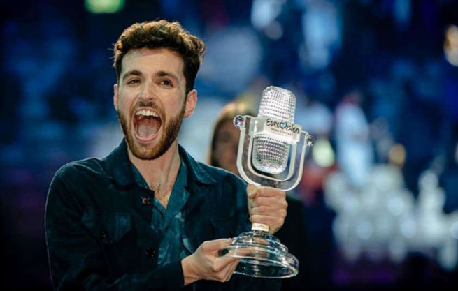 Photo of Szívhez szóló beszédet búcsúzott az Eurovízió biszexuális nyertese