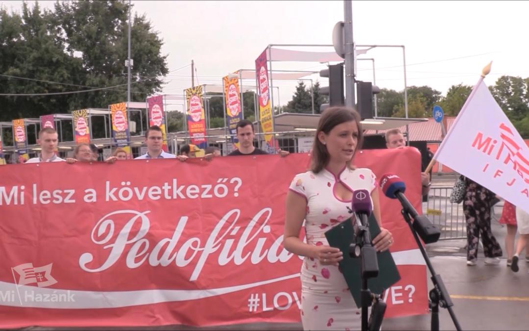 Photo of Ezúttal a Szigeten tiltakozott a Mi Hazánk Mozgalom a Coca-Cola ellen