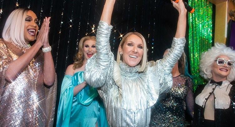 Photo of Drag queenekkel karöltve mutatta be új albumát Celine Dion