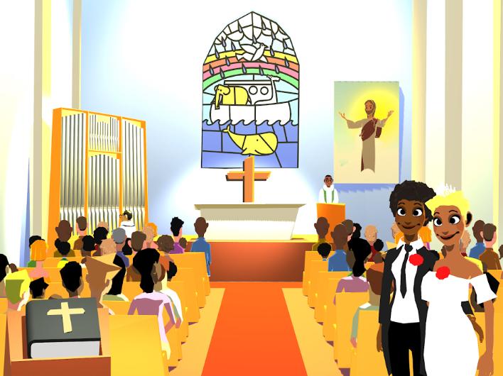 Photo of Azonos nemű párok is összeházasodhatnak egy gyerekeknek szánt keresztény applikációban