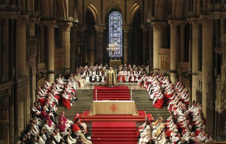 Photo of Az anglikán egyház szerint csakis a heteroszexuális házaspároknak jár a szex