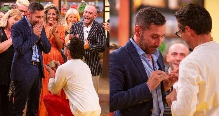 Photo of Élő közvetítésben kérte meg párja kezét az olasz főzőműsor győztese