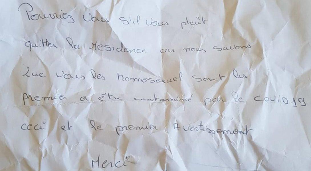 Photo of Társasházi üzenetek: A meleg pár elköltözését követeli egy lakó a koronavírus miatt