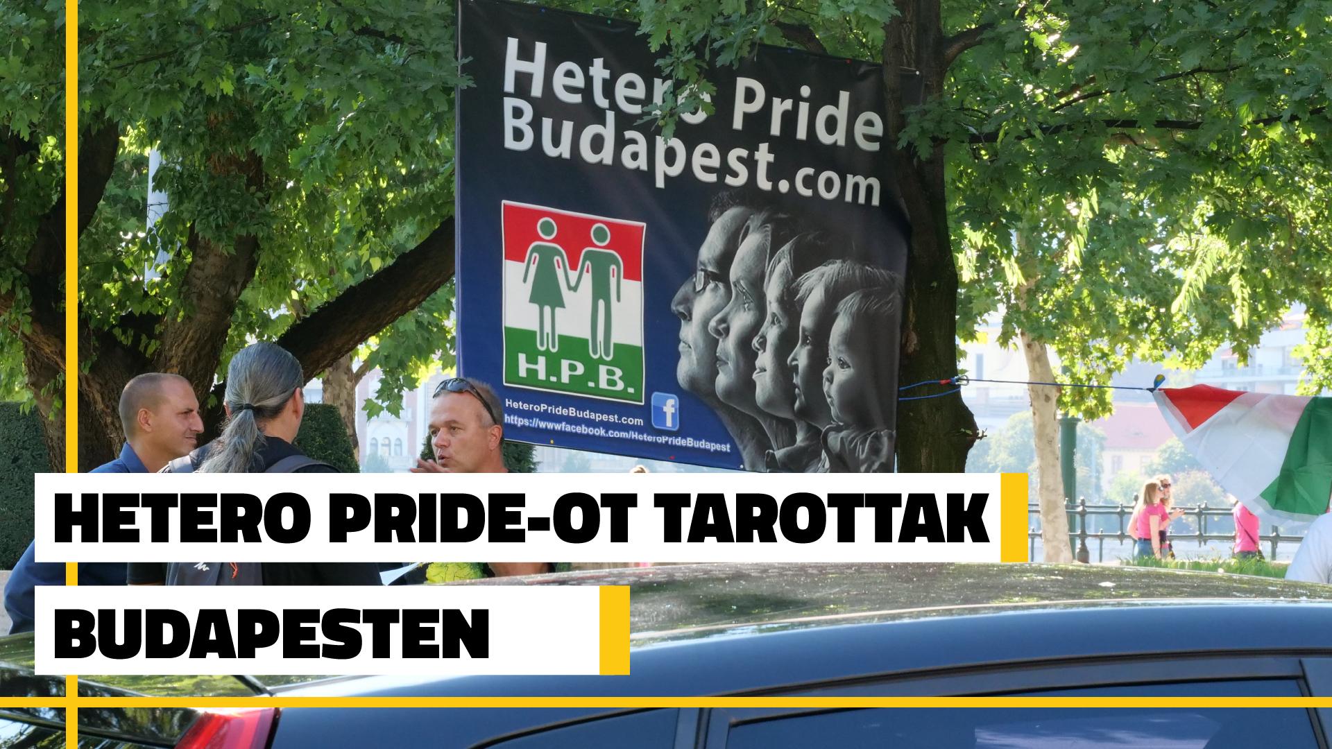 Photo of Videó: Érdektelenségbe fulladt a budapesti heteró pride