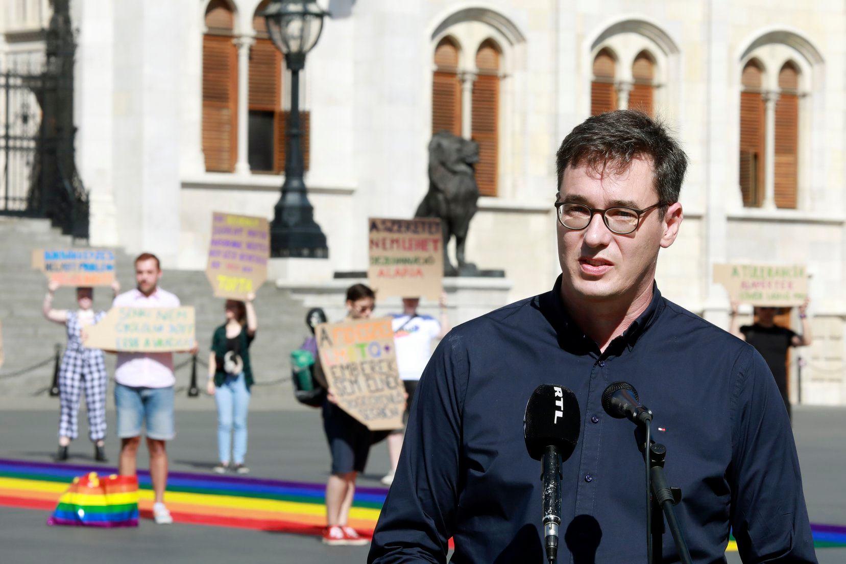 Photo of Karácsony Gergely is beszédet mondott a Budapest Pride alkalmából