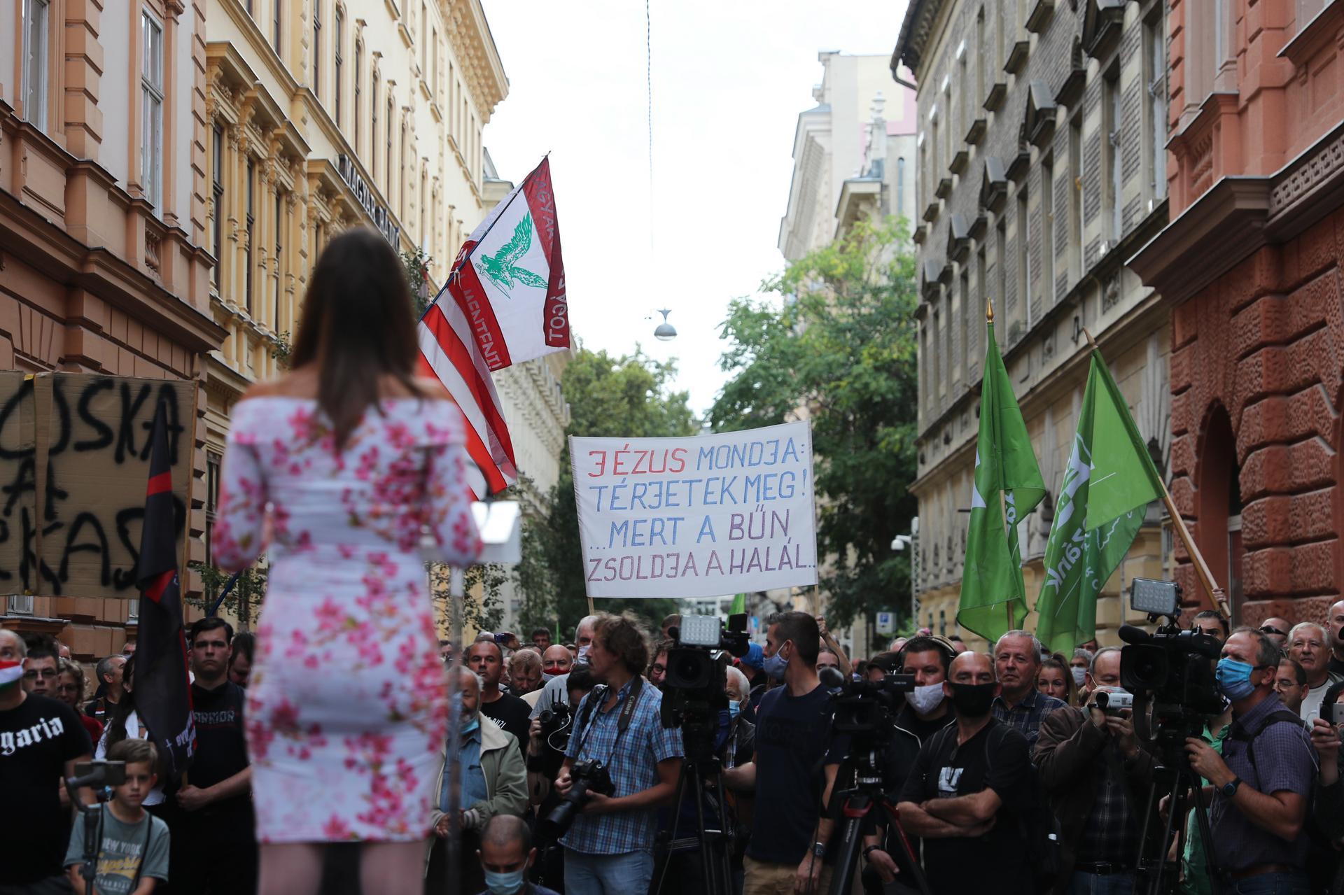 Photo of Érdektelenségbe fulladt a Mi Hazánk tüntetése