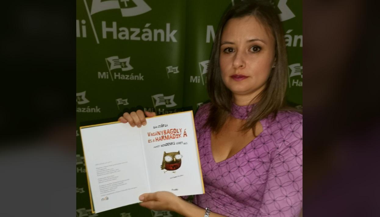 """Photo of Dúró Dóra újabb """"homoszexuális propagandát"""" terjesztő mesekönyvre csapott le"""
